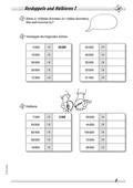 Mathematik, Mathematik_neu, Zahlen & Operationen, Primarstufe, Halbieren, verdoppeln, Zahlen und Operationen, Grundrechenarten, Rechenoperationen, Rechenstrategien, Rechenwege, zahlenraum bis 1 million