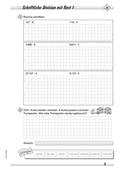 Mathematik, Grundrechenarten, Zahlen & Operationen, Division, schriftliches Rechnen, division mit rest