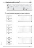 Mathematik, Grundrechenarten, Zahlen & Operationen, Multiplikation, schriftliches Rechnen