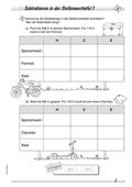 Mathematik, Grundrechenarten, Zahlen & Operationen, Subtraktion, Stellenwerttafel, schriftliche subtraktion