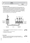 Physik_neu, Sekundarstufe I, Mechanik, Mechanik der Flüssigkeiten und Gase, Mechanische Schwingungen und Wellen, Druck und Druckmessung
