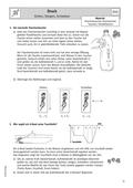 Physik_neu, Sekundarstufe I, Mechanik, Mechanik der Flüssigkeiten und Gase, Auftrieb und Schwimmen/ Archimedes'sches Gesetz
