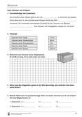 Physik_neu, Sekundarstufe I, Mechanik, Eigenschaften von Körpern, Messungen, Volumenmessung