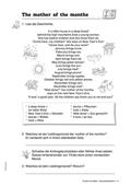 Englisch, Themen, Literatur, Kompetenzen, Alltag, Umwelt, Literaturvermittlung, Kommunikative Fertigkeiten, Wetter, Arbeit mit narrativen Texten, Lesen / reading, Weather, Story, months, vocabulary