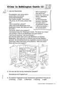 Englisch, Kompetenzen, Themen, Literatur, Kommunikative Fertigkeiten, Alltag, Literaturvermittlung, Lesen / reading, Arbeit mit narrativen Texten, Story, time, vocabulary