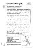Englisch, Themen, Literatur, Kompetenzen, Alltag, Literaturvermittlung, Kommunikative Fertigkeiten, Familie, Arbeit mit narrativen Texten, Lesen / reading, Story, vocabulary