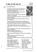 Englisch, Themen, Literatur, Kompetenzen, Alltag, Literaturvermittlung, Kommunikative Fertigkeiten, Haustiere, Arbeit mit narrativen Texten, Lesen / reading, Animals, Story, tier, vocabulary