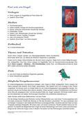 Kunst_neu, Primarstufe, Körperhaft-räumliches Gestalten, Umwelterfahrung und -gestaltung/ Design, Kunstbegegnung und -betrachtung, Materialien, Begegnung mit einem Kunstwerk, Naturmaterialien, Filzstift, Pinsel, Käfig, Tonpapier, Plexiglas