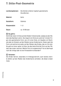 Mathematik, Geometrie, Raum & Form, Form und Raum, figur, Bewegung