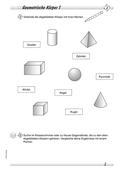 Mathematik_neu, Primarstufe, Raum und Form, Körper, Begriffe und deren Eigenschaften