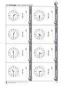 Mathematik_neu, Primarstufe, Größen und Messen, Zeit, Standardeinheiten und Repräsentanten, Uhr