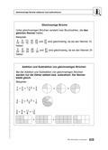 Mathematik_neu, Sekundarstufe I, Zahl, Rationale Zahlen, Rechnen mit Brüchen, Gleichungen und Ungleichungen, rechnen mit brüchen (s1)