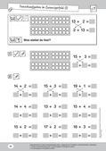 Mathematik, Grundrechenarten, Zahlen & Operationen, Addition, Zahldarstellung, Rechengesetze, zahlenraum bis 20