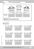 Mathematik, Zahlen & Operationen, Nachbarzahlen, Zahldarstellung, geschickt rechnen, zahlenraum bis 10