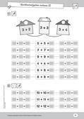 Mathematik, Zahlen & Operationen, Grundrechenarten, Nachbarzahlen, Addition, zahlenraum bis 20