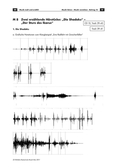 Musik, Bausteine, Elemente, Material, Ausdruck, Wirkung, Funktion, Klangmaterial, Klangerzeuger, Notation, Musik  und Ausdrucksformen, Ton, Klang, Instrumente, Stimme, grafische Notationsformen, Hörspiel