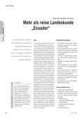Spanisch_neu, Sekundarstufe II, Interkulturelle Kompetenzen und Landeskunde, Soziokulturelles Orientierungswissen