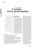 Spanisch_neu, Sekundarstufe I, Mündliche Produktion und Rezeption, Rezeption mündlicher Texte, Alltagskommunikation verstehen und darauf reagieren
