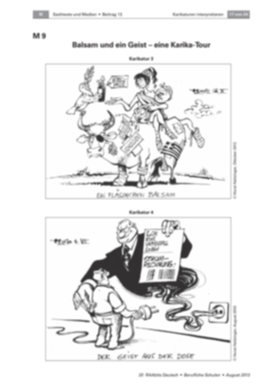 Karikaturen interpretieren – eine Karika-Tour Preview 2