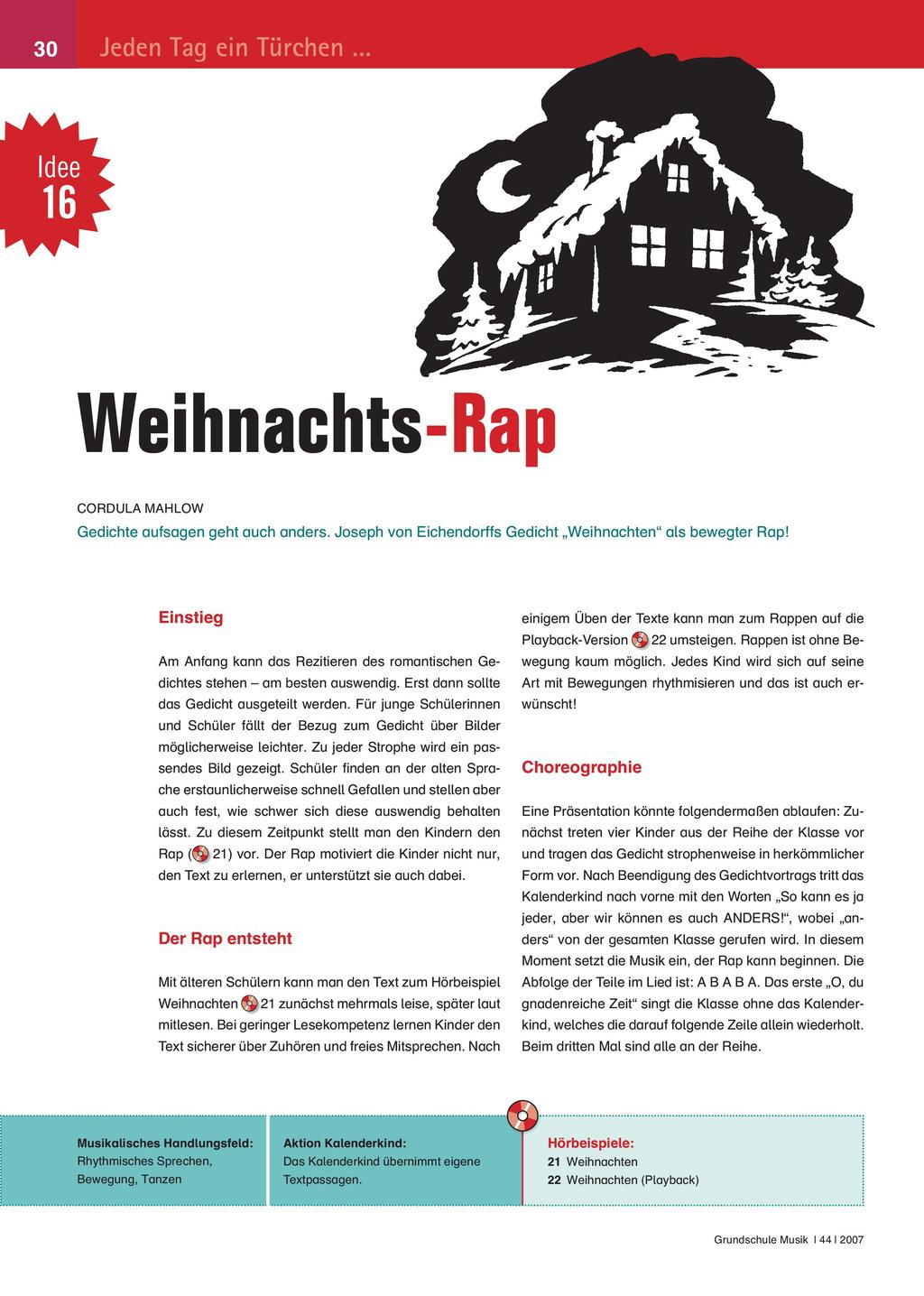 Weihnachts-Rap Preview 1