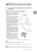 Mathematik_neu, Sekundarstufe I, Funktionen, Quadratische Funktionen, Wurzelfunktion