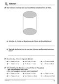 Mathematik_neu, Sekundarstufe I, Größen und Messen, Rauminhalt, Rauminhaltsberechnungen, Zylinder, Kreiskegel, Kegelstumpf, größen und messen (s1)