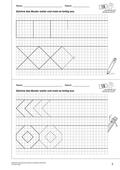 Mathematik_neu, Primarstufe, Raum und Form, Symmetrie, Bandornamente