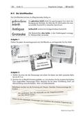 Kunst_neu, Sekundarstufe II, Flächiges Gestalten, Zeichnen, Schrift und Bild