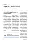 Erdkunde_neu, Sekundarstufe I, Amerika, Orientierung, Stadt, Bundesstaat, Methode, Erkenntnis, Analyse, Segregation, Global City, Metropole