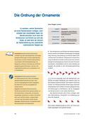 Mathematik_neu, Primarstufe, Raum und Form, Geometrische Muster, Symmetrie, Grundlagen, Muster, Fachdidaktische Hinweise, Fachwissenschaftliche Hinweise, Ziele und Kompetenzen, Bandornamente, Muster und Strukturen, ebene Muster fortsetzen, ebene Muster analysieren, Systematisieren, Bandornamente konstruieren