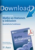 Mathematik_neu, Sekundarstufe I, Funktionen, Quadratische Funktionen, Wurzelfunktion, Darstellungen, Kurvendiskussion, Gleichungen, Schaubilder und Graphen, Funktionen, Funktionsgraphen, Funktionsgleichung, Nullstellen, Koordinatensystem, Gleichungen, Scheitelpunkt, Hochpunkt, Tiefpunkt, Parabel, Quadratische Funktionen