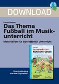 Musik_neu, Primarstufe, Musik im Alltag und in den Medien, Musiktheorie und -geschichte, Funktionale Musik, Fußballspiel, Melodie, Stimmung erzeugen