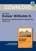 Geschichte_neu, Sekundarstufe I, Neueste Geschichte, Deutsches Kaiserreich, Hohenzollern, Preußen