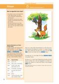 Deutsch_neu, Sekundarstufe I, Literatur, Lesen, Sprache und Sprachgebrauch untersuchen, Sprechen und Zuhören, Schreiben, Literarische Gattungen, Erschließung von Texten, Sprachliche Strukturen und Begriffe auf der Satzebene, Sprachliche Strukturen und Begriffe auf der Wortebene, Informieren, Schreibverfahren, Wortarten, Wortbildung, Verfügen über Leseerfahrungen, Epische Kurzformen, Erklären und Zusammenfassen, Pragmatisches Schreiben, Adjektiv, Wortbildung des Adjektivs, Kreatives Schreiben, Kenntnis und Unterscheidung der Textsorten, Fabel, Analyse und Interpretation literarischer Texte, Literarische Texte als Schreibanregung, Tiere einer Fabel, menschliche Eigenschaften von Tieren, menschliche Charakterzüge von Tieren, Äsop, Der Wolf und der Kranich, Der Löwe und das Mäuschen, innerer Monolog schreiben, Überschriften finden, Jean de la Fontaine, Der Frosch und der Ochse, gereimte Fabel, Marion Dane Bauer, Winzling, Slawomir Mrozek, Der Artist, Fabeln untersuchen