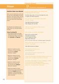 Deutsch_neu, Sekundarstufe I, Sprache und Sprachgebrauch untersuchen, Lesen, Schreiben, Sprechen und Zuhören, Literatur, Sprachliche Strukturen und Begriffe auf der Satzebene, Sprachliche Strukturen und Begriffe auf der Wortebene, Verfügen über Leseerfahrungen, Erschließung von Texten, Schreibverfahren, Erzählen, Wortschatzarbeit, Literarische Gattungen, Kenntnis und Unterscheidung der Textsorten, Pragmatisches Schreiben, Lyrik, Analyse und Interpretation literarischer Texte, Grundlagen zur Analyse und Interpretation von Lyrik, Metrum, Jambus, Trochäus, Daktylus, Anapäst, Melodie von Gedichten, Rhythmus von Gedichten, betonte und unbetonte Silben, Paarreim, Kreuzreim, Schweifreim, Lautmalerei, Joachim Ringelnatz, Kindersand, Christian Morgenstern, Der Frühling kommt bald, Kurt Schwitters, Regen, Die Ameisen, Gedicht interpretieren, Joseph von Eichendorff, Sehnsucht, Gedichte für Kinder, Hand Adolph Halbey, Urlaubsfahrt, Johann Wolfgang Goethe, Hexeneinmaleins, Erich Kästner, Fauler Zauber, Theodor Storm, Die Stadt, Theodor Fontane, Herr von Ribbeck auf Ribbeck im Havelland