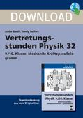 Physik_neu, Sekundarstufe I, Mechanik, Grundlagen der Dynamik, Kraft, Kraftfeld, Vertretungsstunde Physik, Kraftvektoren