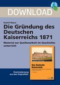Geschichte_neu, Sekundarstufe I, Neueste Geschichte, Erster Weltkrieg 1914-1918, Politik Bismarcks, Preußen, Reichskanzler, König Wilhelm