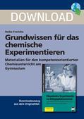 Chemie_neu, Sekundarstufe I, Laborarbeit, Sicherheit, Gefahrensymbole, Gesundheits-, Arbeits- und Brandschutz, Lernen von Verhalten bei chemischen Experimenten