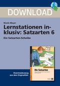 Deutsch_neu, Primarstufe, Richtig Schreiben, Interpunktion, Kennzeichnung des Schlusses von Ganzsätzen
