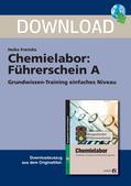 Chemie_neu, Sekundarstufe I, Laborarbeit, Sicherheit, Gesundheits-, Arbeits- und Brandschutz, Umgang mit Chemikalien, Gefahrensymbole, neue und alte Gefahrensymbole im Vergleich