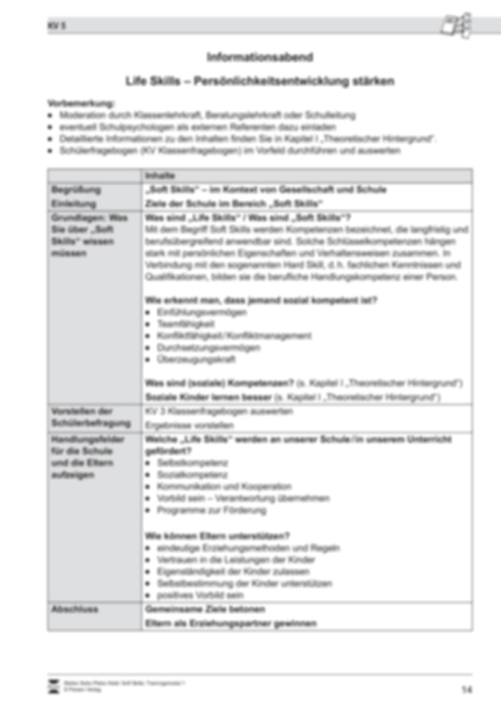 Soft Skills: Klassenklima, Schülerbeobachtung, Elternarbeit Preview 16