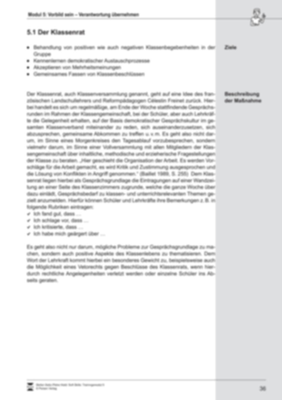 Soft Skills: Vorbildliches und verantwortungsvolles Verhalten Preview 3