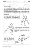 Sport_neu, Sekundarstufe I, Spielen, Zusammenspiel in Gruppen, Hockey/ Floorball, Ball, Hockeyball, Schläger, Neigung, Ausholbewegung