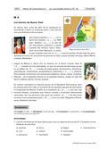 Spanisch_neu, Sekundarstufe II, Mündliche Produktion und Rezeption, Interkulturelle Kompetenzen und Landeskunde, Lesen und Literatur, Schreiben, Produktion mündlicher Texte, Grundlagen, Soziokulturelles Orientierungswissen, Lesen und Leseverstehen, Schreibverfahren, An Gesprächen teilnehmen, Spanische und hispanoamerikanische Kultur und Gesellschaft, Geschichte Spaniens und Hispanoamerikas, Lesetechniken, Pragmatisches Schreiben, Argumentieren und Diskutieren, Analyse von Texten/ Fragen zu Texten beantworten, Erörterung/ Persönliche Stellungnahme, New York, Tabelle, Wortschatz, Hypothesen formulieren, Miami, Lesen eines Textes, Analyse eines Textes