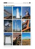 Erdkunde_neu, Sekundarstufe I, Unsere Erde, Klima, Aufbau der Erde, Wind, Temperatur, Niederschlag, Windrad, Windkraft, Wasserkraft, Speicherkraftwerk, Strom, Wasserrad, Geothermie, Biogas-Anlage, Solarthermie, Fotovoltaik