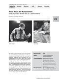 Musik_neu, Sekundarstufe I, Musikpraxis, Musiktheorie, Musikgeschichte, Spielen von Musikinstrumenten, Musik hören, Tonsystem, Noten- und Pausenwerte, Epochen abendländischer Kulturmusik, Portraits von Komponisten/ Interpreten, Orff'sches Instrumentarium, Musik beschreiben, Aufbau von Tonleitern und Skalen, Spielen notierter Rhythmen, Musik des 20. Jahrhunderts, Aufbau, Instrumentierung, formaler Ablauf etc., Wirkung der Musik, Chromatische Tonleiter, Sonstige Skalen/ Tonleitern, Schönberg, Prélude, selbst komponieren, Zufall in der Musik, Music for Piano, Klangflächen Atmosphäre, John Cage, Clustertechnik, schräge Klänge, Mikropolyphonie, kanonartige Einsätze, Boulez, Ligeti, Tonhöhe, Zufallskomposition, Würfeln und Komponieren, Glockenspiel