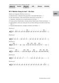 Musik_neu, Sekundarstufe I, Musikpraxis, Musiktheorie, Der Körper als Instrument/ Bodypercussion, Noten- und Pausenwerte, Spielen/ Nachspielen von Rhythmen, Notation von Rhythmen, Spielen notierter Rhythmen, Vier-Viertel-Takt, Rhythmen erkennen, Noten- und Pausenpyramide, Ganze, Halbe, Viertel, Achtel, Lückentext mit Noten