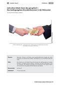 Politik_neu, Sekundarstufe I, Wirtschaft und Arbeitswelt, Zahlungsformen und Zahlungsmittel, Funktionen des Gelds, Einkommen, Grundeinkommen, Lohn