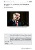 Politik_neu, Sekundarstufe I, Politische Ordnung, Politische Ordnung auf Europaebene, Türkei, Kemalismus, Putschversuch, Laufzettel, Entwicklung, Konsequenzen, Diskussion, Erdogan