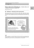 Englisch_neu, Sekundarstufe I, Schreiben, Lesen und Literatur, Mündliche Produktion und Rezeption, Schreibverfahren, Texte, Rezeption mündlicher Texte, Erschließung von Texten, Kreatives Schreiben, Literarische Gattungen, Hör-/Hörsehtexte verstehen, Strategien zur Texterschließung, Literarische Texte als Schreibanregung, Lyrik, Markieren, Birth announcement, Letter of congratulation, Born yesterday, Philip Larkin, Wishes for a newborn